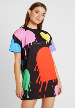 PRIDE COLLECTION HEART DRESS - Jersey dress - multi
