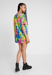 Jaded London - TIE DYE FREAKY ALIEN PRINT DRESS - Robe en jersey - multi