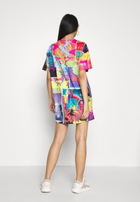 Jaded London - OVERSIZED T SHIRT DRESS - Jersey dress - surf - 2