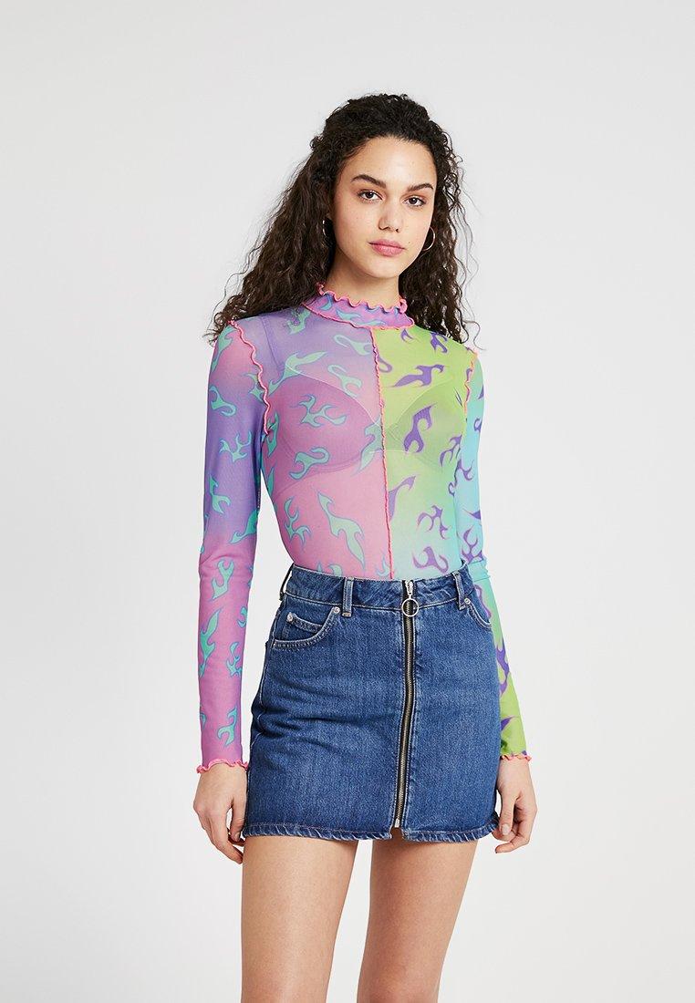 Jaded London - SEAM DETAIL BODYSUIT - T-shirt à manches longues - multi-coloured