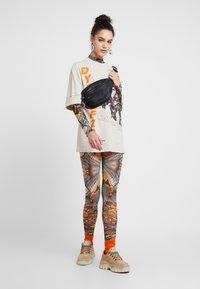 Jaded London - HIGH NECK LONG SLEEVE BODYSUIT - Long sleeved top - multi coloured - 1