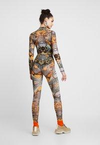 Jaded London - HIGH NECK LONG SLEEVE BODYSUIT - Long sleeved top - multi coloured - 2