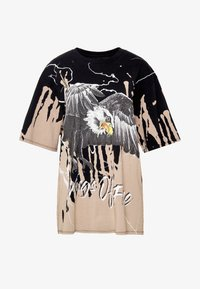 Jaded London - OVERSIZED ROCK TEE - Print T-shirt - eagle print - 4