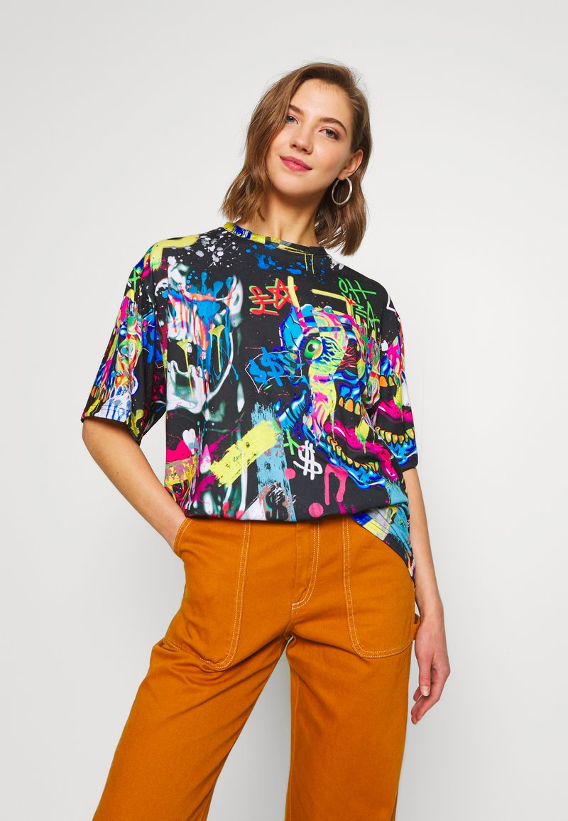 Jaded London - OVERSIZED - T-shirt imprimé - multi-coloured