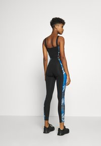 Jaded London - SQUARE NECK PRINTED CATSUIT WITH CUT OUT - Jumpsuit - multi coloured - 2