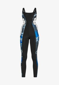 Jaded London - SQUARE NECK PRINTED CATSUIT WITH CUT OUT - Jumpsuit - multi coloured - 6