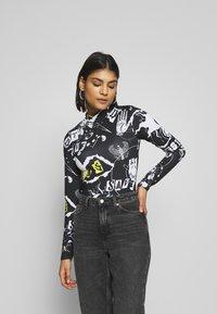 Jaded London - PUNK - Long sleeved top - black - 0