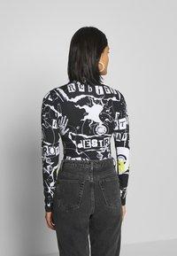 Jaded London - PUNK - Long sleeved top - black - 2