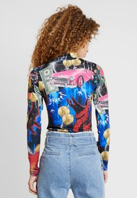 Jaded London - HIGH NECK LONG SLEEVE BODY - Maglietta a manica lunga - multi-coloured