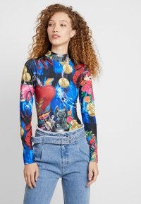 Jaded London - HIGH NECK LONG SLEEVE BODY - Maglietta a manica lunga - multi-coloured - 0