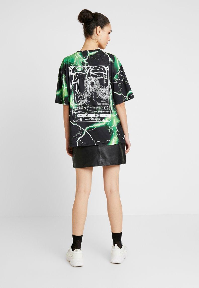 Jaded London - OVERSIZED - T-Shirt print - oriental lightening