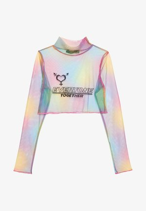 PRIDE TIE DYE CROP TOP - Blouse - multi