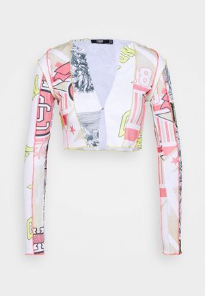 CUT & SEW WITH BABYLOCK DETAIL - Summer jacket - multi-coloured