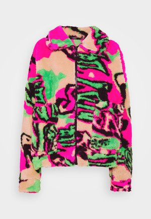 Winter jacket - multi coloured