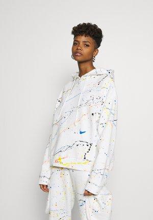 DRAPEDHOODIE - Bluza z kapturem - off white