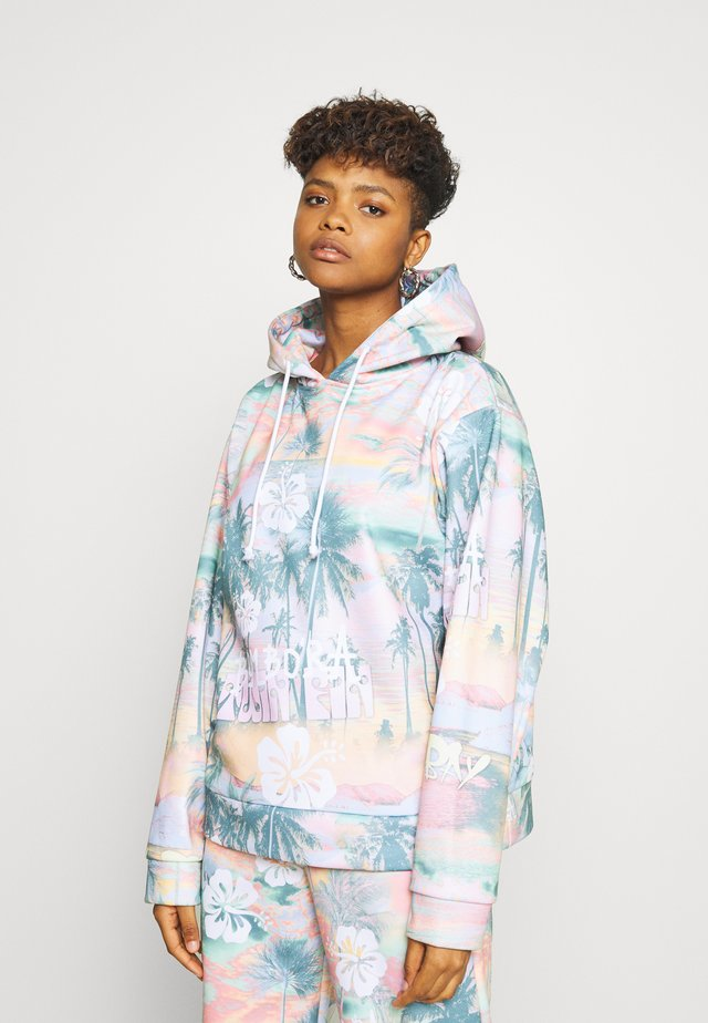 OVERSIZED HOODIE - Kapuzenpullover - multi-coloured