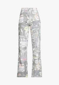 Jaded London - PRINTED SLOUCHY - Džíny Relaxed Fit - multi-coloured - 4