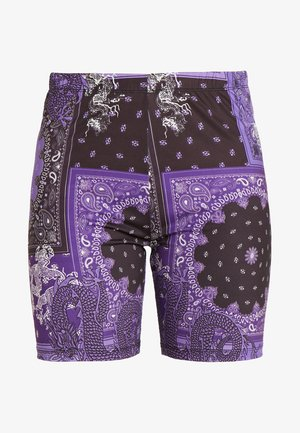 EXCLUSIVE PRINTED CYCLING - Short - purple