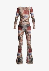 Jaded London - SCOOP BACK FLARED LEG - Jumpsuit - multicoloured - 4
