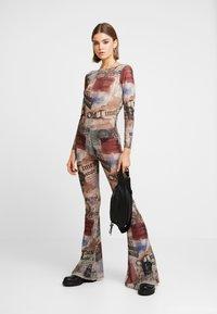 Jaded London - SCOOP BACK FLARED LEG - Jumpsuit - multicoloured - 1