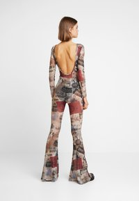 Jaded London - SCOOP BACK FLARED LEG - Jumpsuit - multicoloured - 2