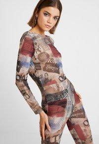 Jaded London - SCOOP BACK FLARED LEG - Jumpsuit - multicoloured - 3