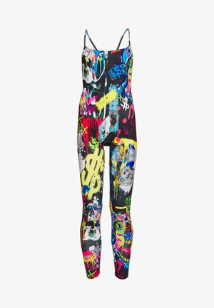 SQUARE NECK CATSUIT - Tuta jumpsuit - multi-coloured