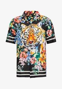 Jaded London - TIGER FLORAL REVERE  - Camisa - black - 4