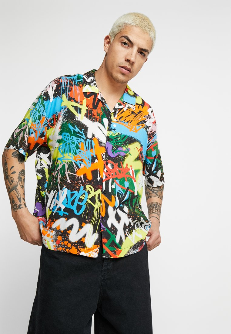 Jaded London - REVERE SHIRT - Camisa - graffiti