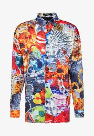 COLLAGE STRIP SHIRT - Skjorta - multi