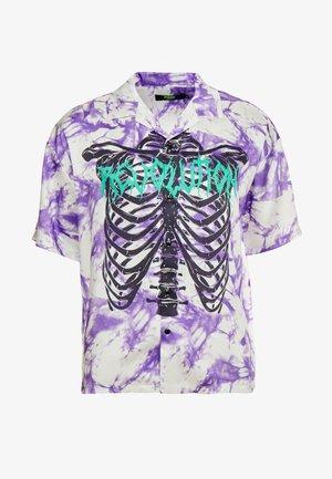 SKELETON REVERE SHIRT - Camisa - purple