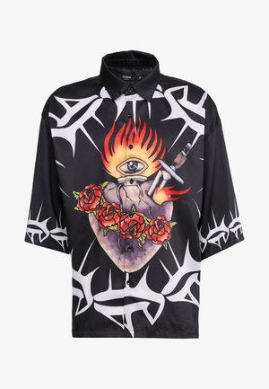SACRED HEART OVERSZIED SHORT SLEEVE  - Camisa - black