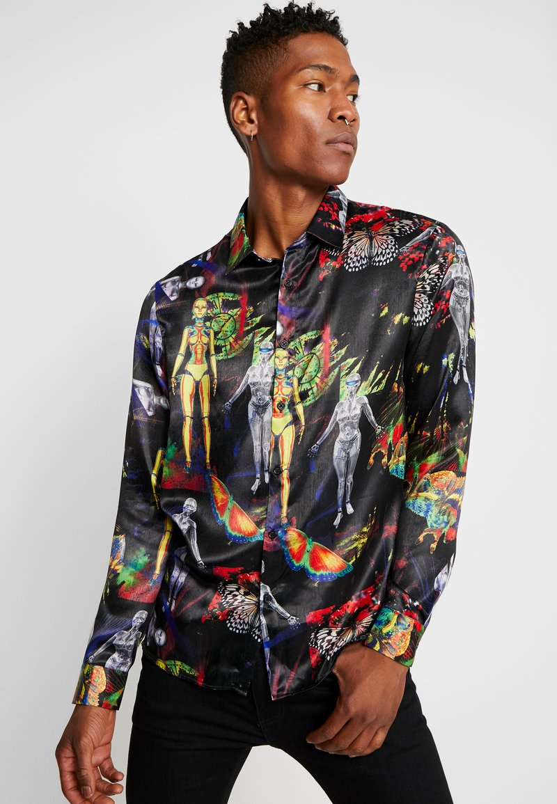 Jaded London - ROBOTIC LASER LONG SLEEVE - Camicia - multi