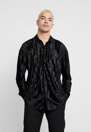 STRIPE - Camicia - black