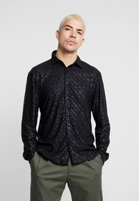 Jaded London - SPECKLED GLITTER  - Camicia - black - 0