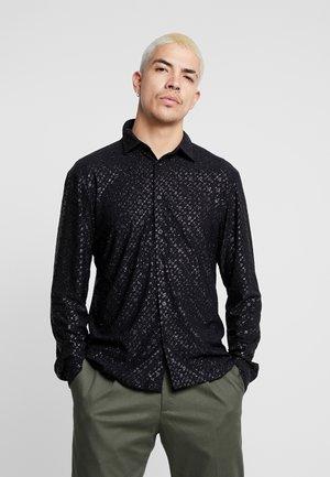 SPECKLED GLITTER  - Camicia - black