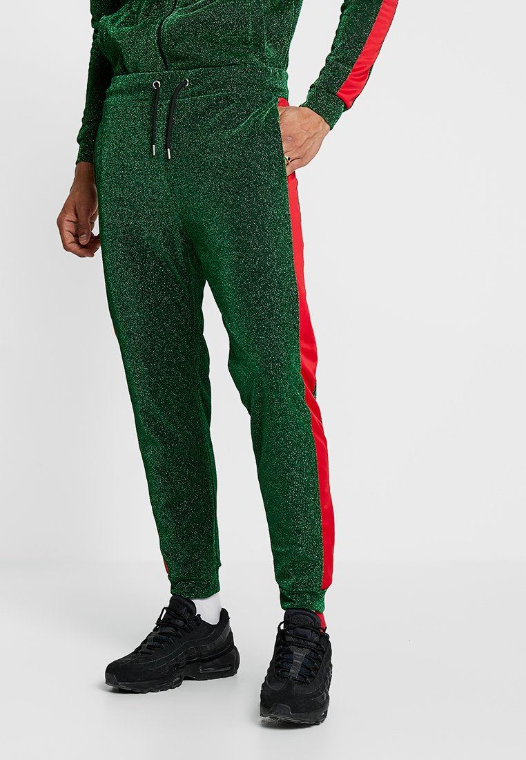 Jaded London - PANEL JOGGERS - Tracksuit bottoms - green