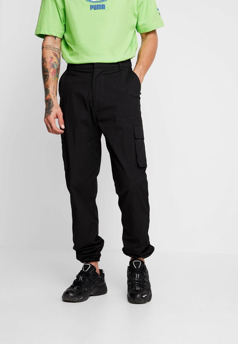 Jaded London - PANTS - Pantalones cargo - black