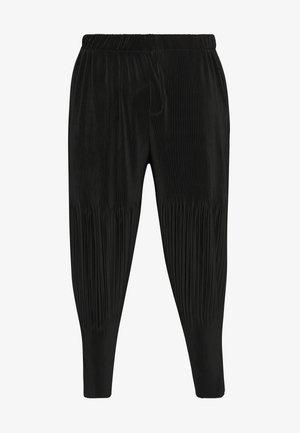 PLISSE TROUSER - Pantalon classique - charcoal
