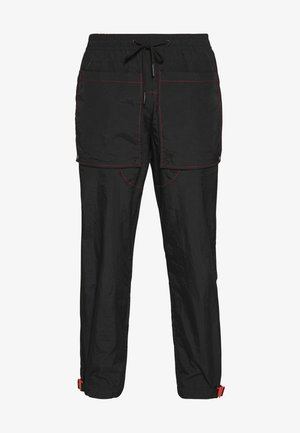 CONTRAST TECHNICAL TROUSER - Pantaloni cargo - black