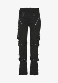 Jaded London - PUNK TROUSERS - Kalhoty - black - 0