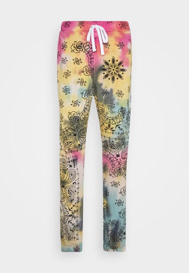 DIE DYE PAISLEY - Pantalon de survêtement - multicoloured