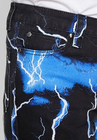 Jaded London - LIGHTENING SKATE - Jeans relaxed fit - black - 3