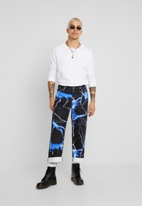 Jaded London - LIGHTENING SKATE - Jeans relaxed fit - black - 1