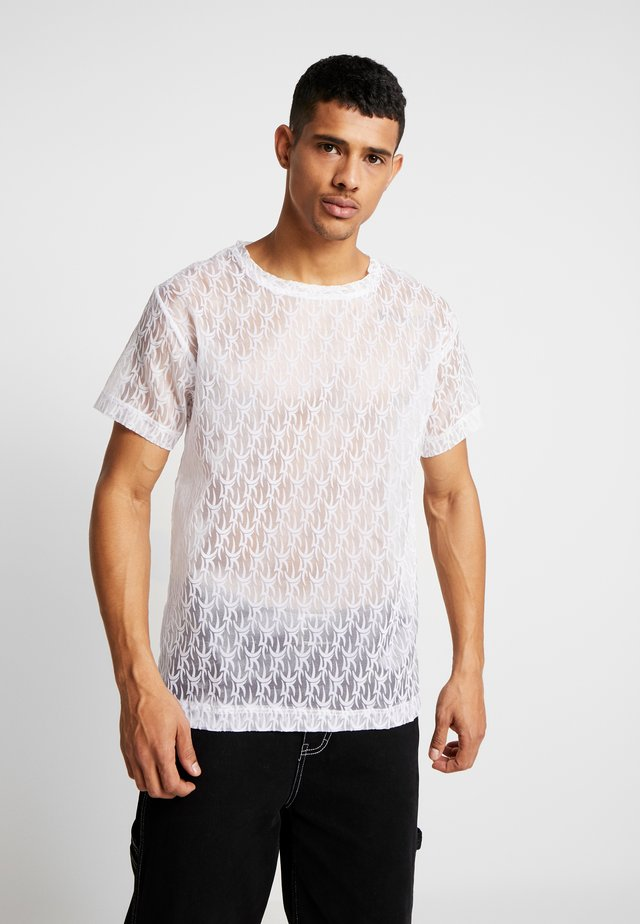 TRIBAL  - Print T-shirt - white