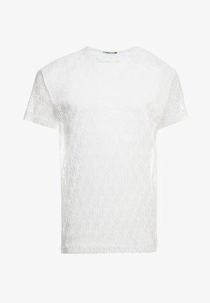 TRIBAL  - T-shirt med print - white