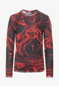 Jaded London - SPACE GAME TOP - Maglietta a manica lunga - red - 4