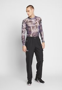 Jaded London - PYSCHEDLIC COLLAGE TOP - Long sleeved top - purple - 1