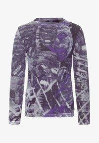 Jaded London - PYSCHEDLIC COLLAGE TOP - Long sleeved top - purple - 4