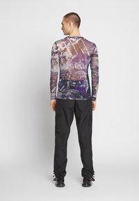 Jaded London - PYSCHEDLIC COLLAGE TOP - Long sleeved top - purple - 2